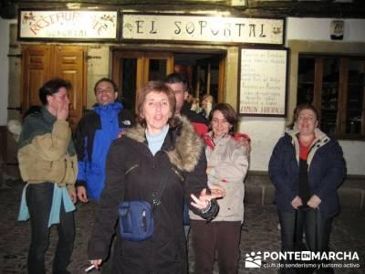 Alberca la nuit - Sierra de Francia; visitas alrededores de madrid